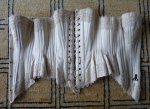 40 antique wedding corset 1880