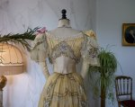 38 antique evening gown Duval Eagan 1889