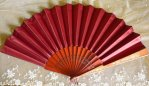 17 antique folding fan 1905
