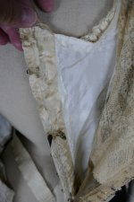 45 antique dinner dress Hamburg 1906