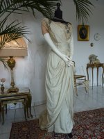 3 antique evening dress