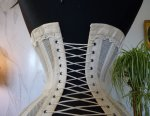 19 antique summer corset 1890