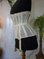 23 antique summer corset 1890
