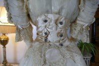 23 antique ball gown 1900