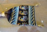 1 antique misers purse 1840