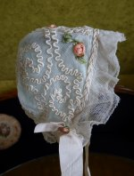 5 antique baby bonnet 1910