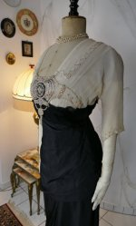 13 antique evening gown Nelmarie 1913