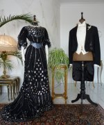 4 antique ball dresses
