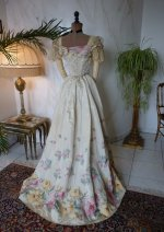 24 antikes abendkleid 1895