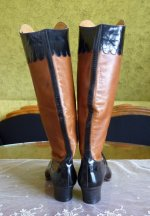14 antique ridding boots 1890