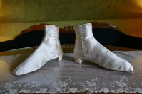 10 antique wedding Boots 1860