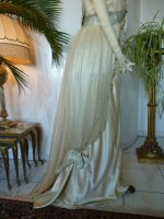28 antique WORTH Evening Gown 1906