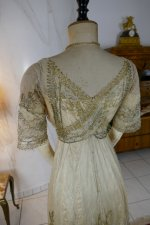 31 antique evening dress 1912