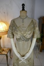 4 antique evening dress 1912