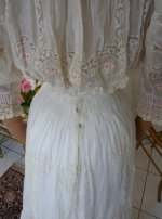 36 antique afternoon gown
