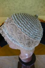 7 antique boudoir Bonnet 1920