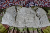 32 antique childs court dress 1760