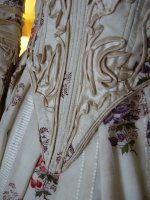 32 antique romantic period dress 1839