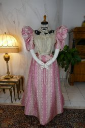 antique ball gown 1895