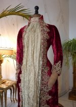3a antique dress gown