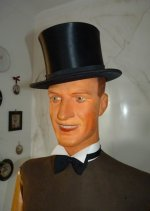 23 antique male mannequin