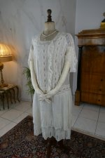 2 antique tea gown 1926