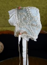 12b antique baby bonnet 1910