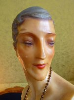 11 antique wax mannequin 1920