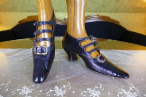 antique edwardian shoes 1901