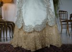 12 antique evening gown Worth 1894