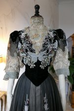 5 antique Gustave Beer gown 1906