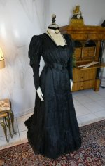 2 antique afternoon dress 1907