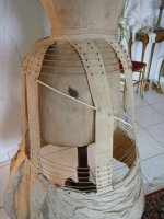 17 antique crinoline