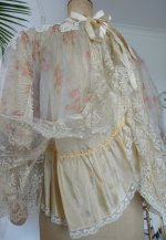 102 antique bed jacket