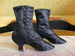 7 antique Facundo Garcia button boots 1879