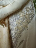 20 antique evening gown Worth 1910