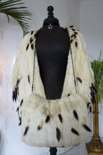 4 antique ermine cape