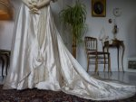7A antique edwardian wedding dress 1909