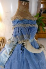 48 antique ball gown 1864