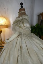16 antique ball gown 1859