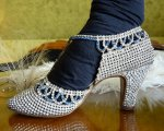 26antique rhinestone shoes 1920