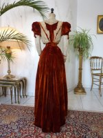 38e antique gown