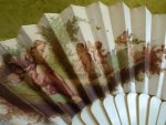 6 antique fan 1890