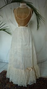 1 antique petticoat