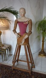 2 antique mannequin 1800