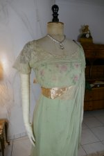 8 antique Jeanne Halle dress 1912