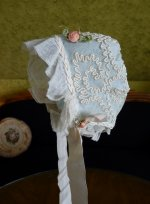 12a antique baby bonnet 1910