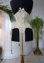 14 antique wedding corset 1885