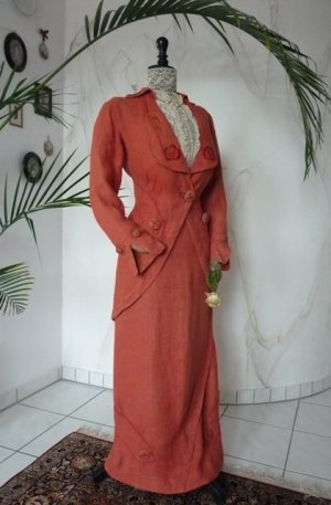 antique dress, antique gown, gown 1912, gown 1910, antique walking suit, antique walking dress, robe ancien, Titanic era Dress, antieke jurk, antique dress for sale