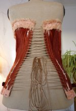 25 antique maternity corset 1885